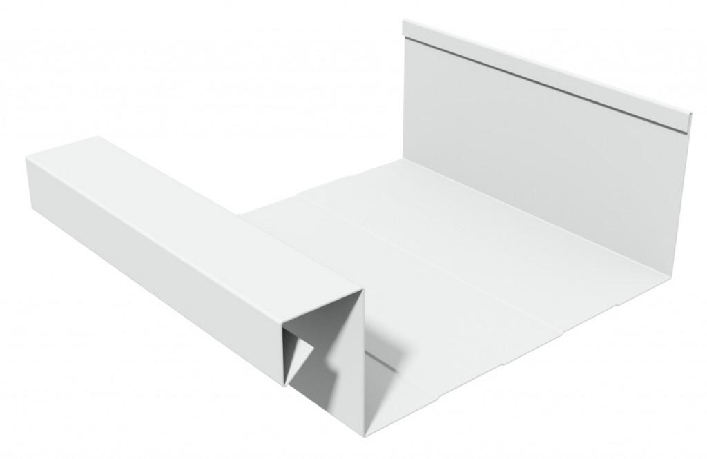 aluminium bakgoot