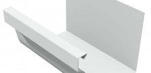aluminium dakgoot R6