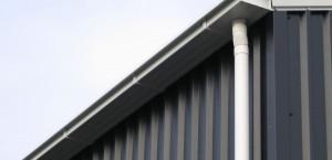 naadloze aluminium dakgoot uitgelicht