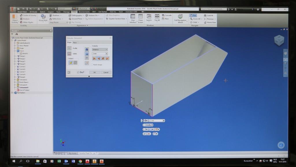 ontwerpen aluminium zetwerk Raintec