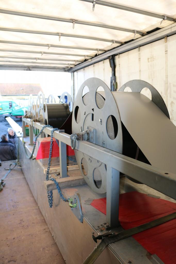 profileermachine voor het maken van stalen potdeksels