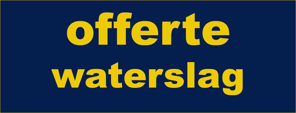 offerte aluminium waterslag Raintec