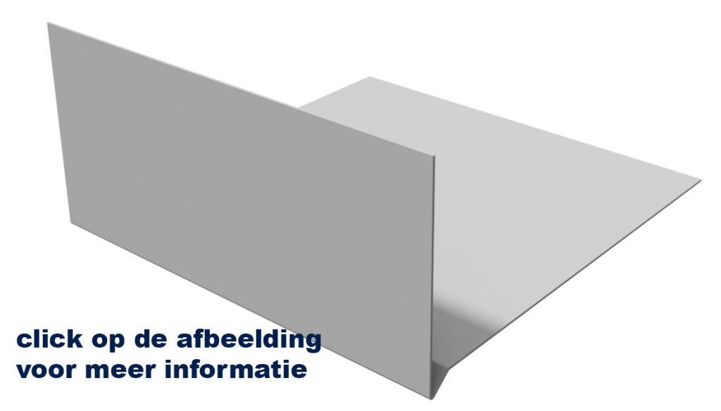 Raintec aluminium windveer met tekst