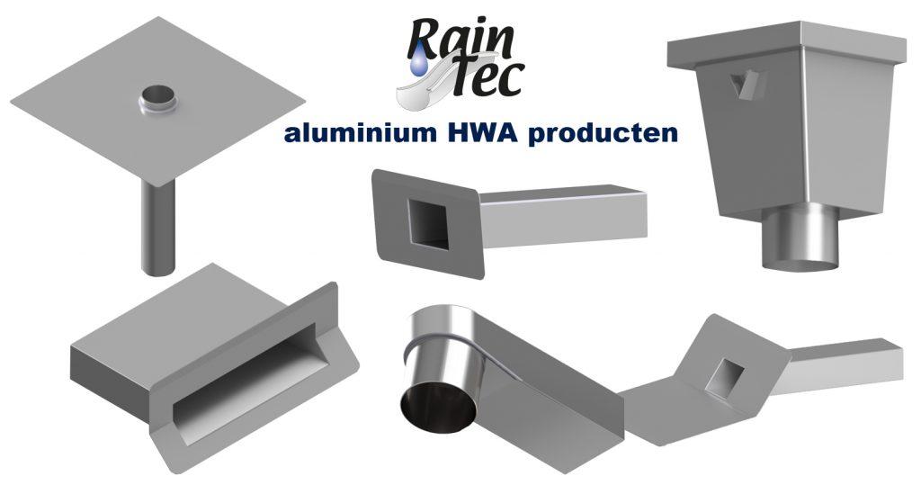 aluminium hemelwaterafvoerproducten HWA Raintec