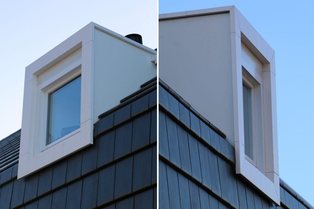 Raintec woning Rittenburg aluminium kader dakkapel rechts
