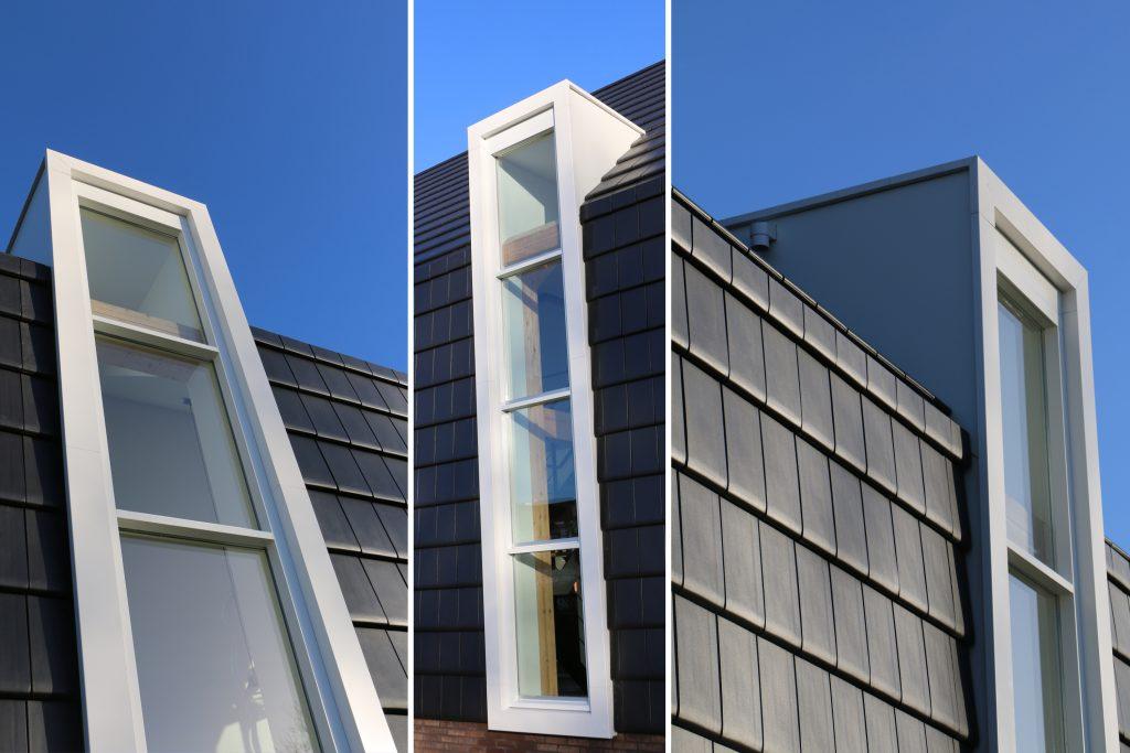 Raintec woning Rittenburg zetwerk aluminium dakkapel links