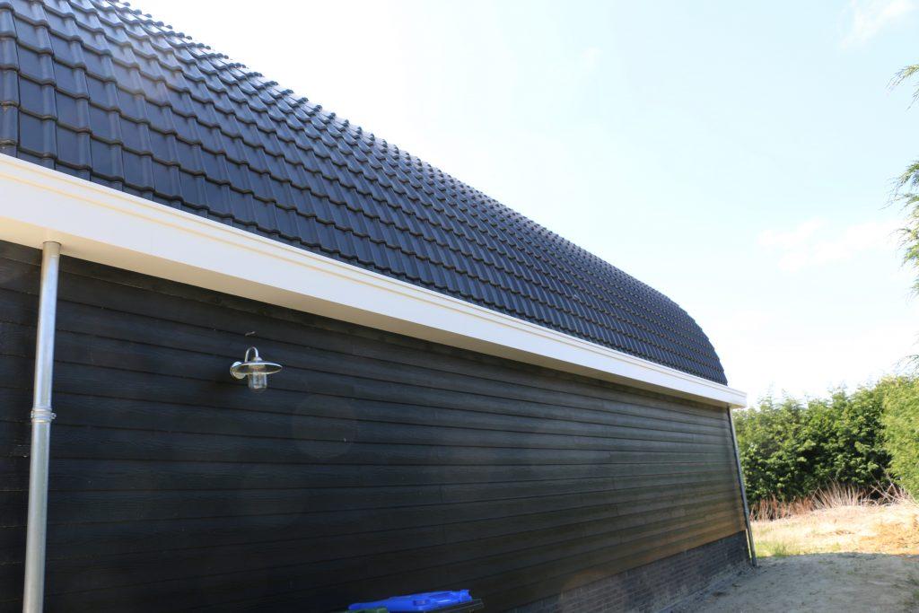 op maat gemaakte dakgoten garage