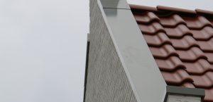 vooraanzicht 2 muurafdekkers Dishoek