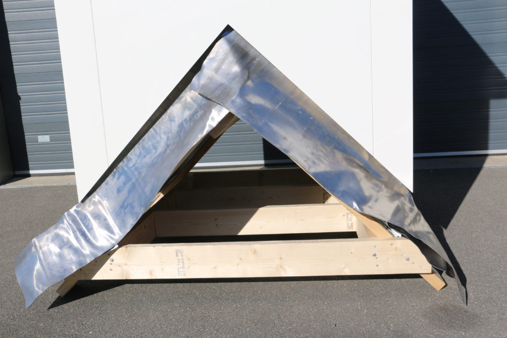 loodslab aluminium duiventil