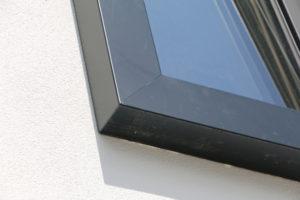 raamkozijn detail hoekverbinding